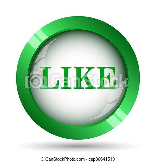 Like icon - csp36641510