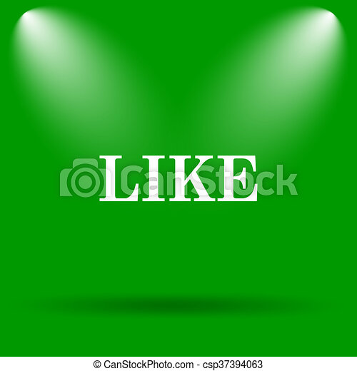 Like icon - csp37394063