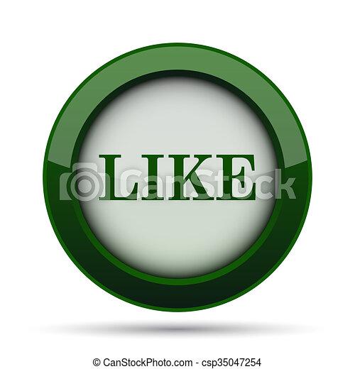 Like icon - csp35047254