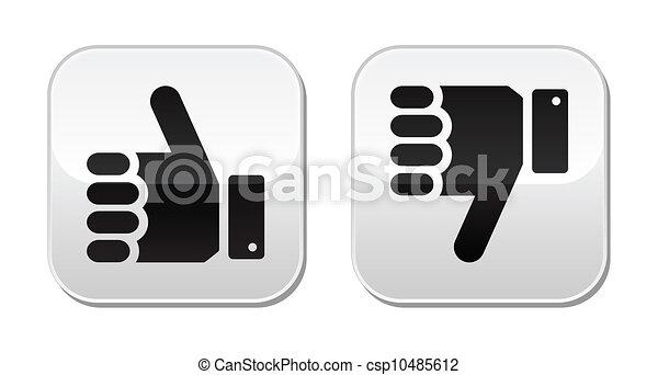 Like it Unlike buttons - csp10485612