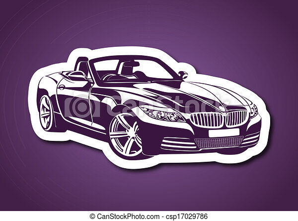 lila, koenig, aus, sport, autos - csp17029786