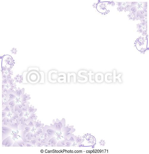 lilac angular frame - csp6209171