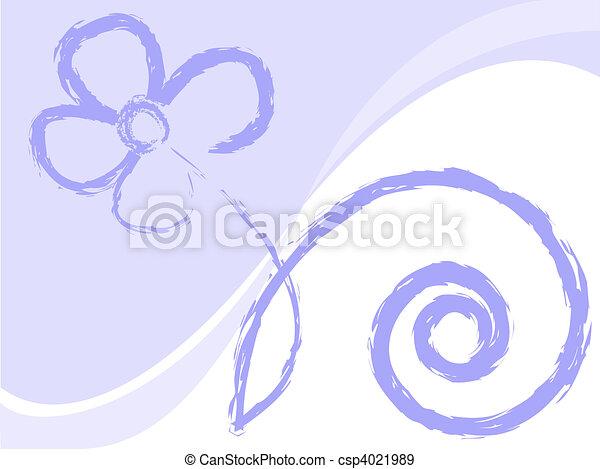 lilac flower - csp4021989
