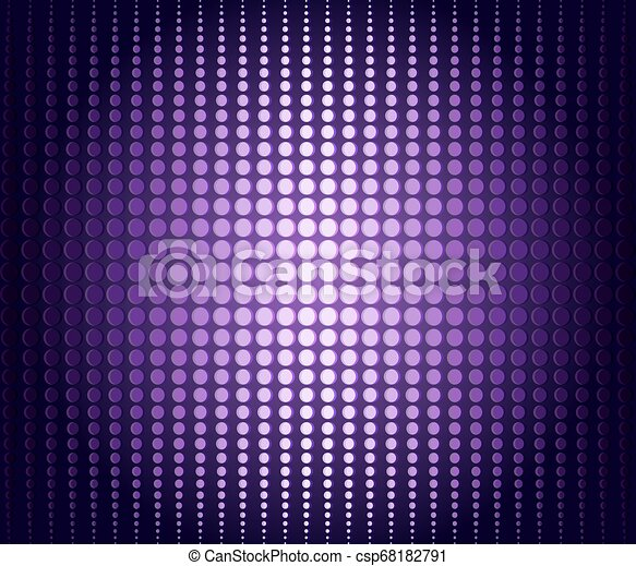 Lilac frame from points of different diameters - csp68182791