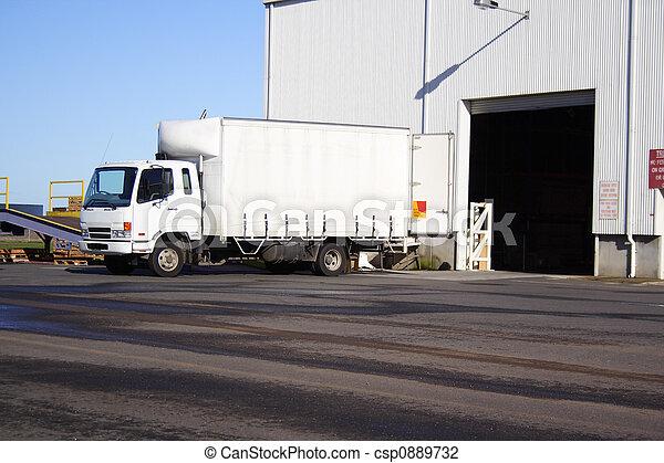 lille, lastbil - csp0889732