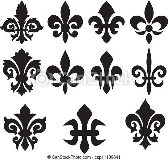 lily flower heraldic symbols lily flower heraldic symbol fleur