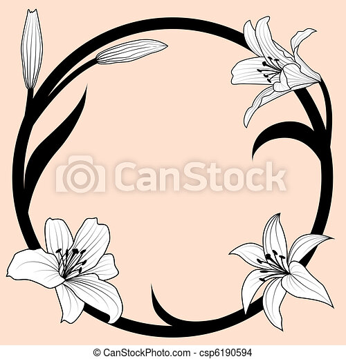 lily frame - csp6190594