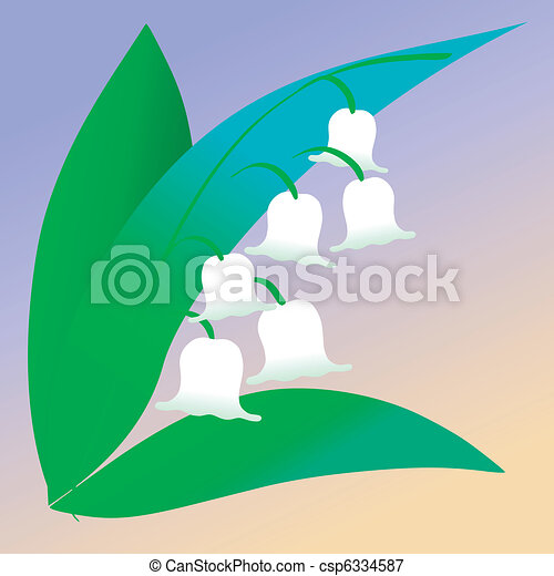 lily of the valley - csp6334587