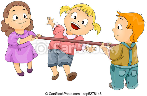 illustration of kids playing the limbo rock rh canstockphoto com limbo dance clipart limbo game clipart