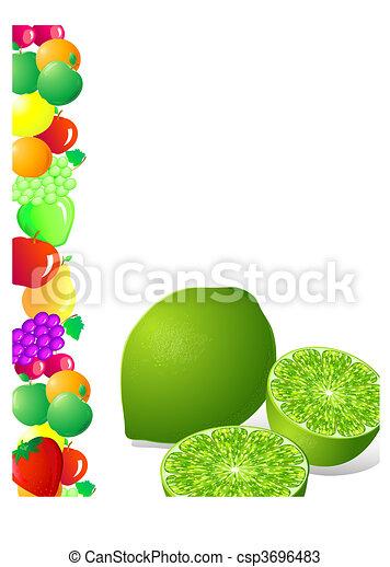 lime fruit - csp3696483