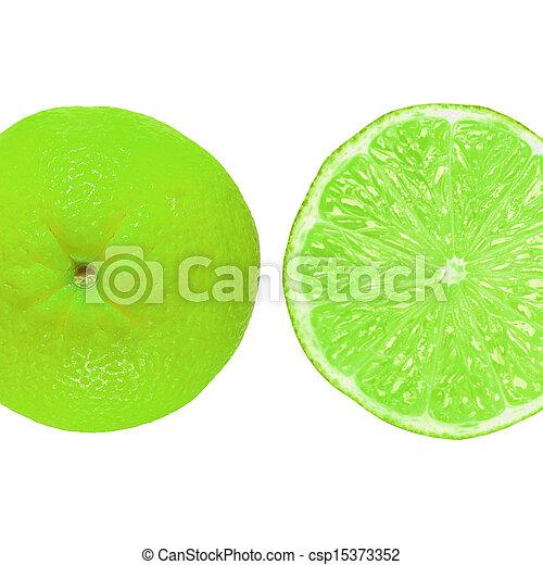 Lime fruit - csp15373352