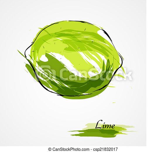 Lime fruit - csp21832017