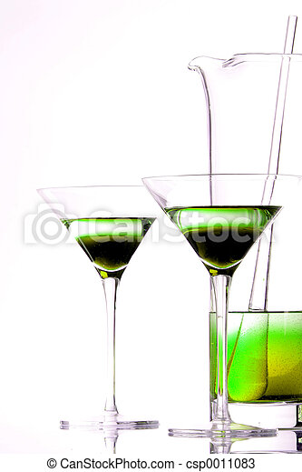 Lime Green Drink - csp0011083