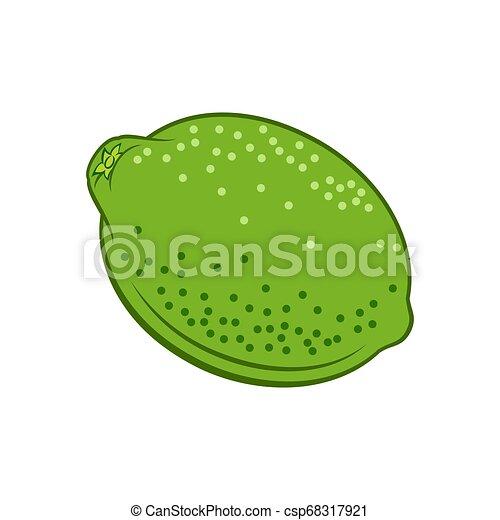Lime Icon - csp68317921
