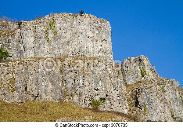 Limestone rocks - csp13070735