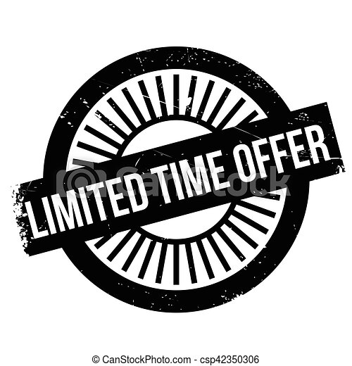 Limited time offer stamp - csp42350306