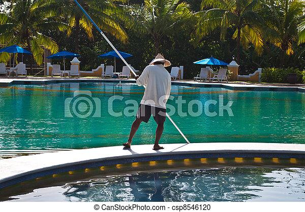 limpador, piscina - csp8546120