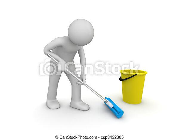 Más limpio en el trabajo - csp3432305