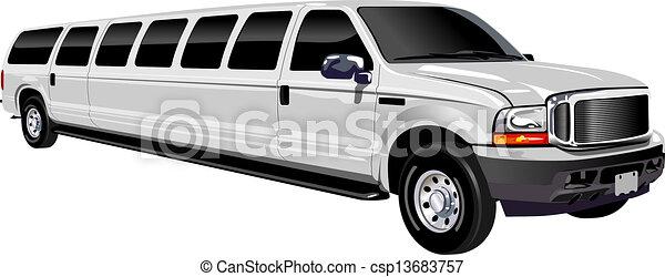 Limousine - csp13683757