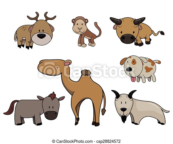 Lindos animales - csp28824572