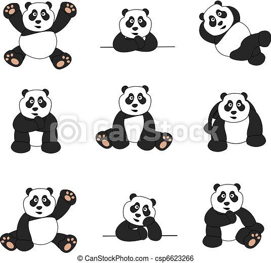 Lindo panda - csp6623266