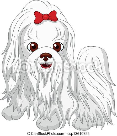 Lindos dibujos de perros - csp13610785