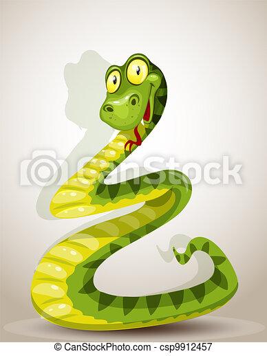 Bonita serpiente - csp9912457