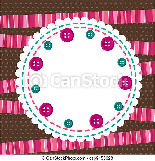 Linda tarjeta de felicitación - csp9158628