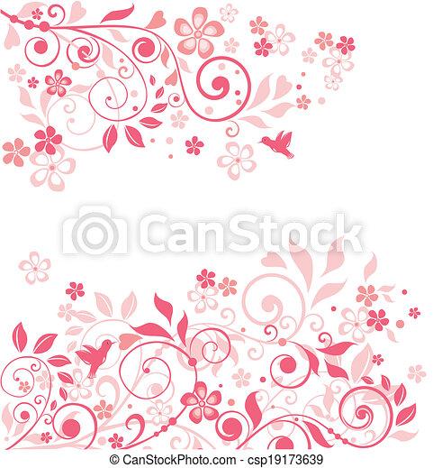 Linda tarjeta de felicitación - csp19173639
