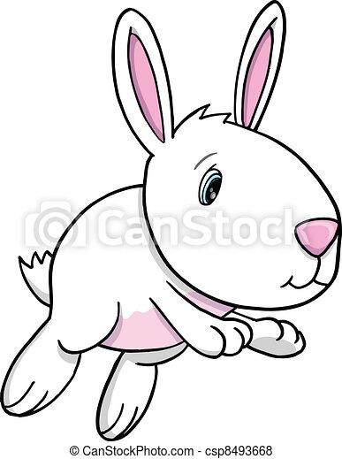 Lindo vector de conejos del este - csp8493668