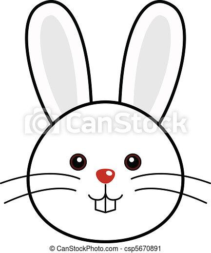 Lindo vector de conejos - csp5670891