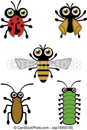 Lindos vectores de insectos - csp15955165