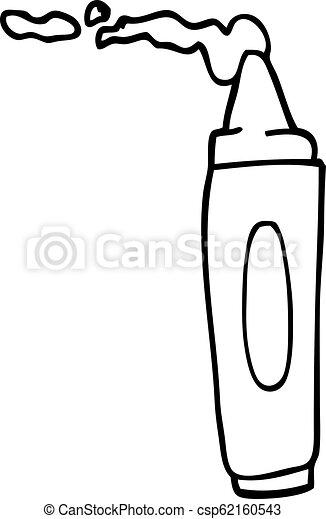 line drawing cartoon coloring crayon