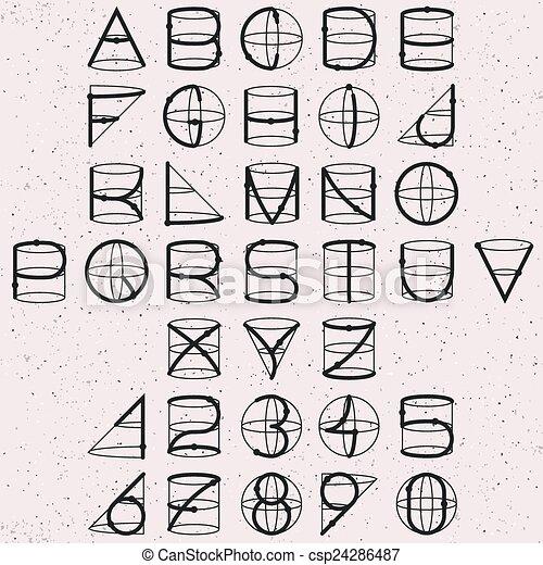 geometry font
