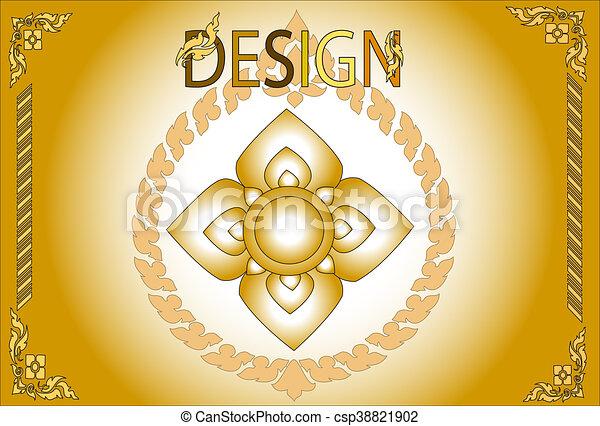 line-thai-design - csp38821902