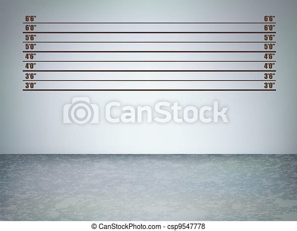 Line Drawing Vector Graphics : Line up grunge. background of a police lineup vector