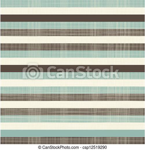 linee, seamless, elegante, retro, fondo, orizzontale - csp12519290