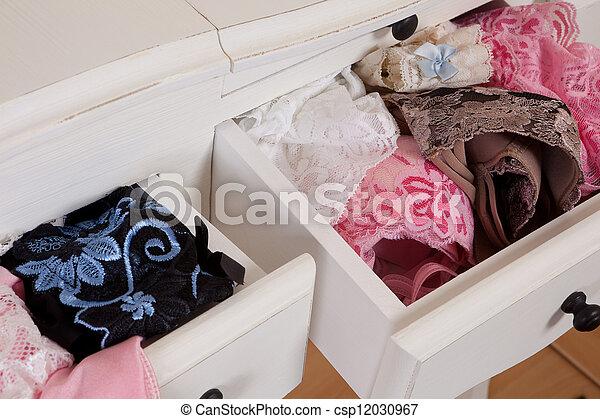 Lingerie drawer - csp12030967