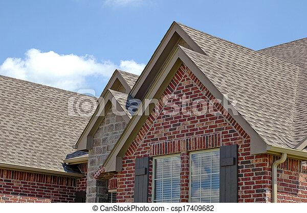 linha, telhado - csp17409682