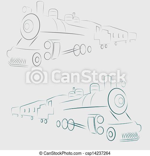 linha, trem - csp14237264