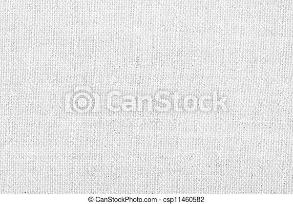 linho, fundo branco, textura - csp11460582