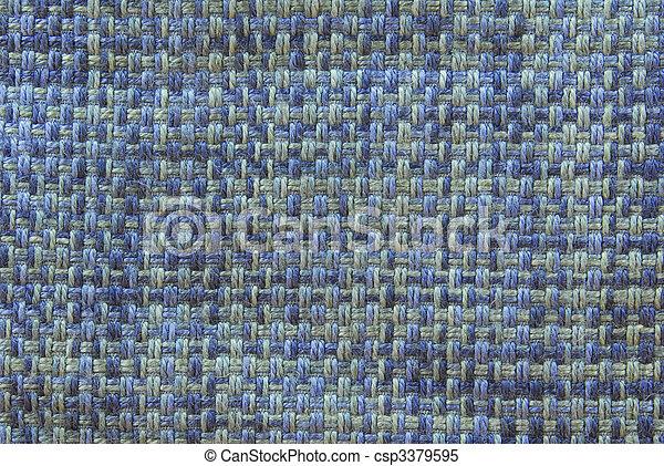 linne, tyg, struktur - csp3379595