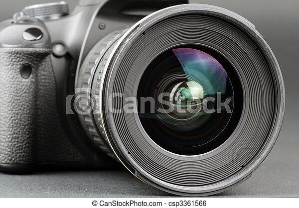 lins, kamera - csp3361566