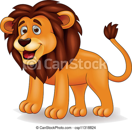 Lion cartoon - csp11318824