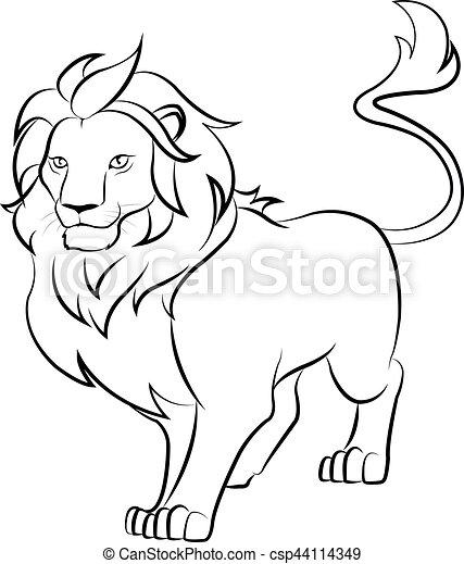 lion - csp44114349