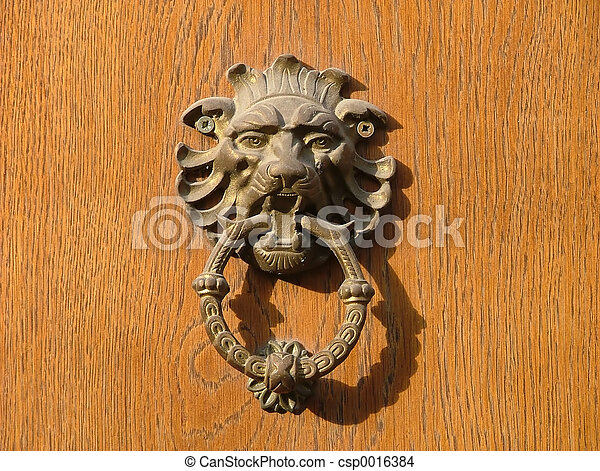 Lion-handle - csp0016384