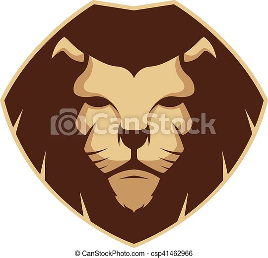 lion head mascot clipart picture of a lion head cartoon clip art rh canstockphoto co uk free lion mascot clipart Lion Mascot Black and White