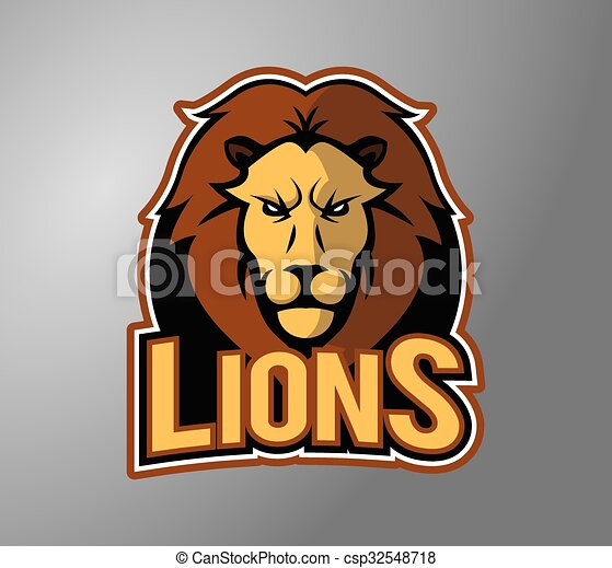 Lion head - csp32548718