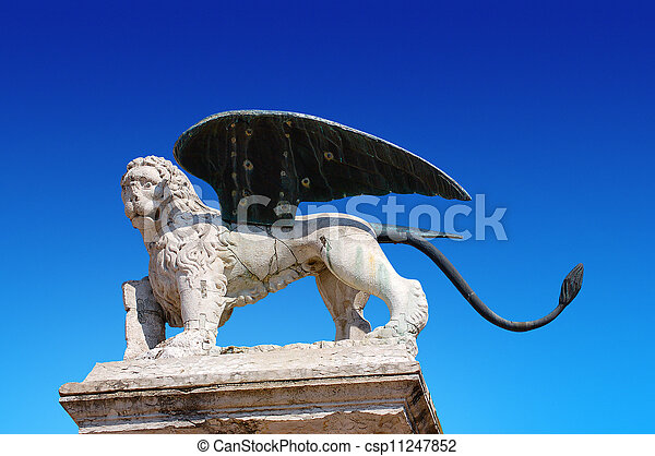 Lion of St. Marco - Marostica Italy - csp11247852