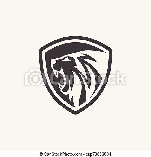 Lion Shield Logo Lion Shield Icon Vector Lion Logo Design Lion Head Logo Design Canstock Lions logo outline (page 1). https www canstockphoto com lion shield logo 73883804 html